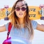 Skater Girl julianoh chrisquyen  Beauty SkaterGirl Fun Active Lifehellip